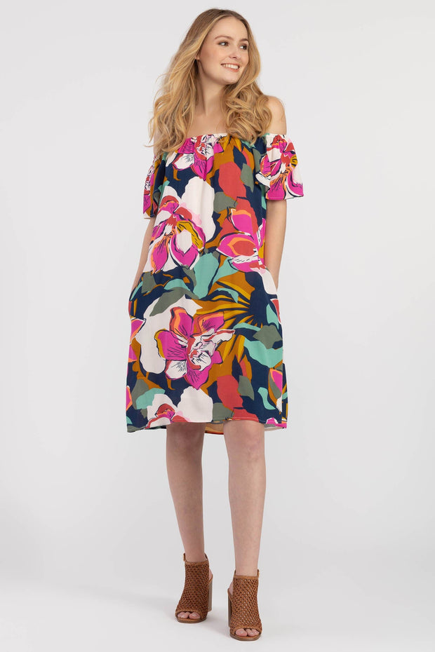 Women's On/Off Shoulder Dress