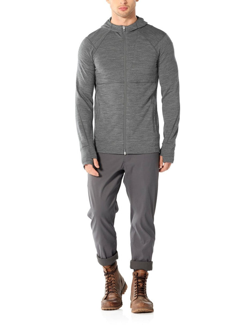 Men Quantum II LS Zip Hood