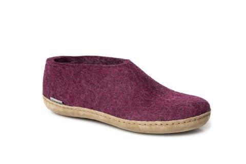 Glerups Shoe - Leather - Cranberry