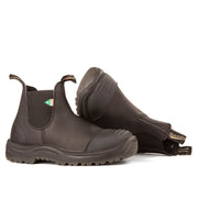 168 - Work & Safety Rubber Toe Cap Boot