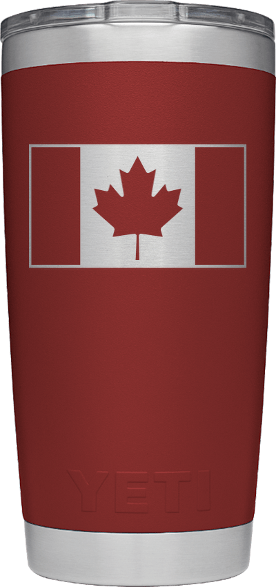 Canada Flag - Brick Red