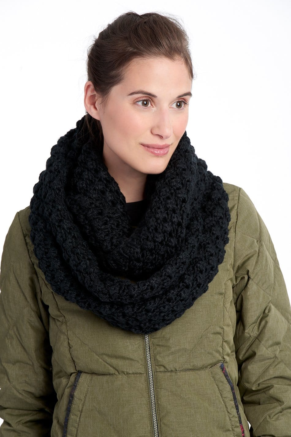 Women's Popcorn Eternity Scarf