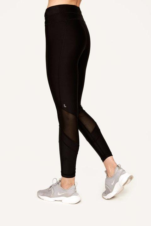 Women's Mid Rise Burst Ankle Legging