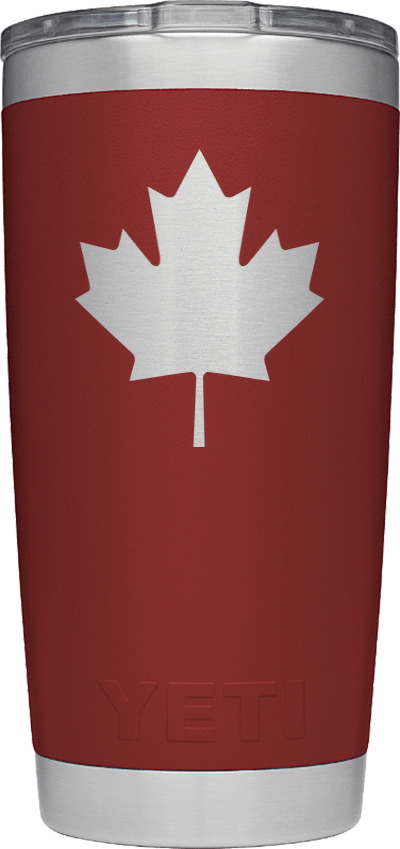 Maple Leaf - Brick Red