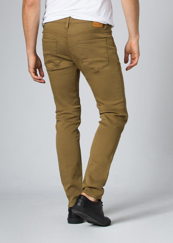 Men's No Sweat Pant Slim - Tobacco