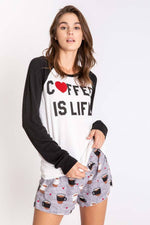 Women's Flannels Long-Sleeve Top