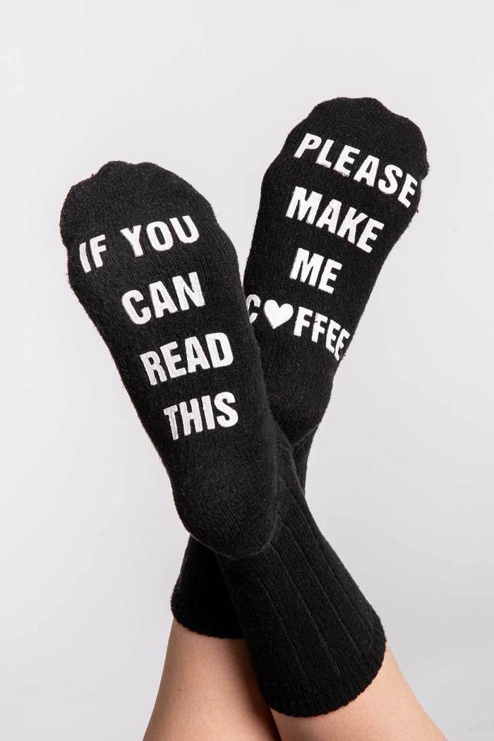 Fun Socks W/ Sayings