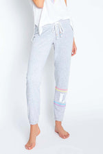Women's Rainbow Lounge Love Banded Pant