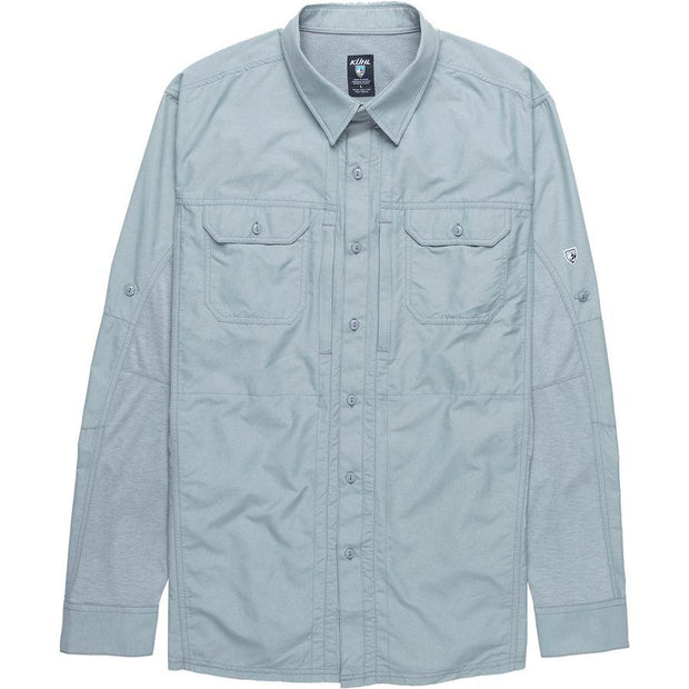Airspeed Long-Sleeve Shirt in Slate - XL