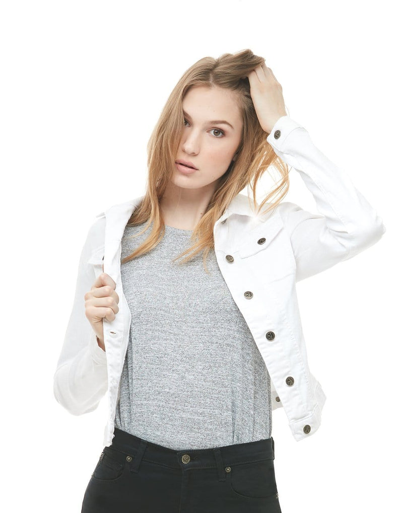 Classic Jean Jacket - White