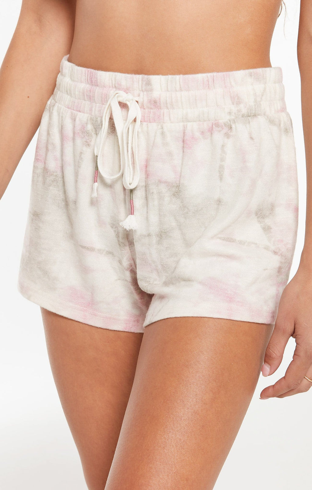 Women's Seaside Faded Tie-Dye Short