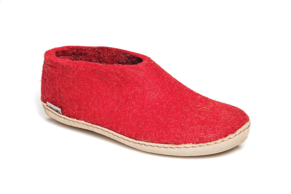 Glerups Shoe - Leather - Red