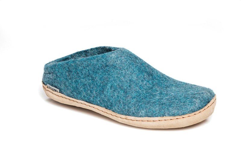 Open Heel Slipper - Leather Sole - Clearance *CLSL*