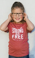 Youth Strong & Free T-Shirt