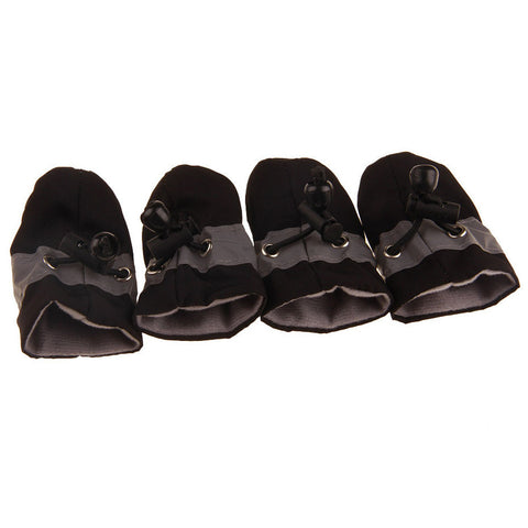 5x4cm dog products 2017 Anti-slip Shoes Puppy Dog Cat Boots Sneaker Boots dogs pets accessories