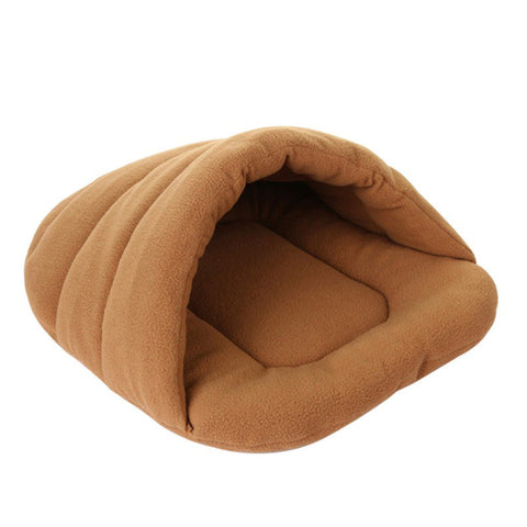 Washable Slipper-shaped Pet Cat Dog Bed Small Dog Puppy Kennel Sofa House Sleeping Bag for French Bulldog Pet Dog Accessories