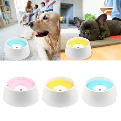 Not Wet Mouth Floating Drinking Bowls Dog Cat Health Feeding High Quality Eco-friendly Plastic Water Feeders Bowls