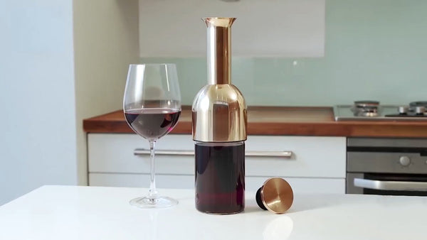 Christmas Pre-Sale! A beautiful innovation in wine preservation.