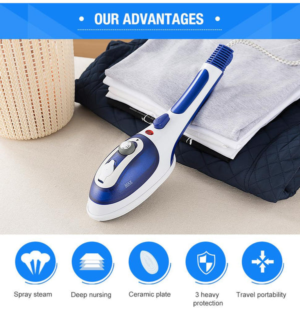 HOT SALE🔥Portable Handheld Steam Iron