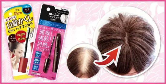 Fast hair coloring stick