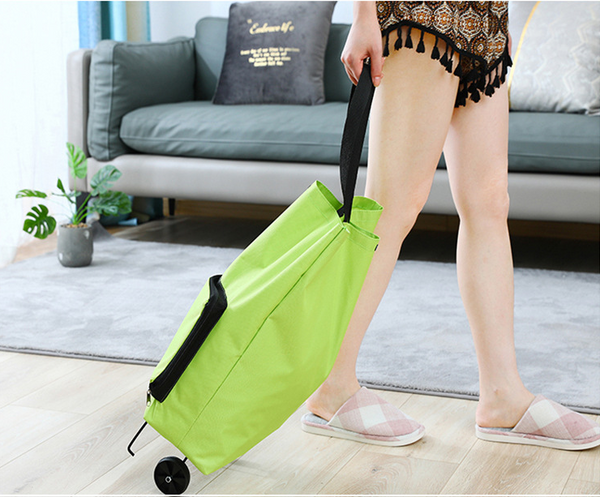 【Hot Sale 50% OFF】Portable Foldable Shopping Cart