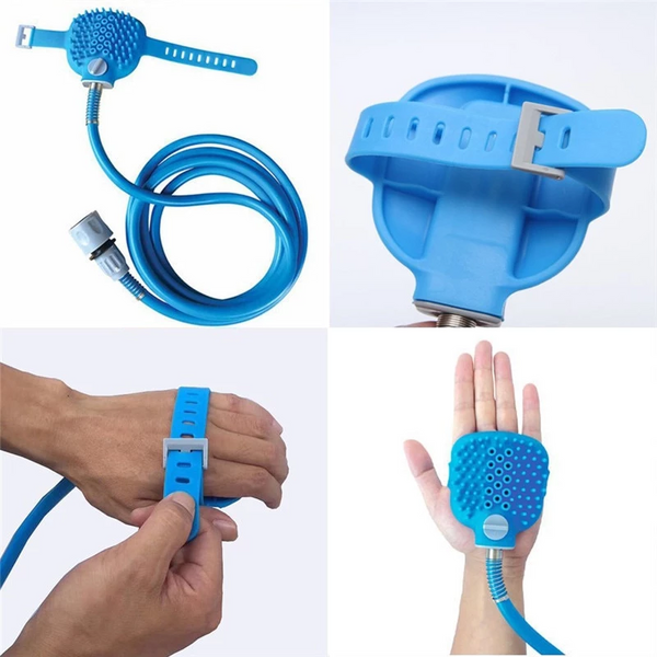 New Pet Comfortable Massager Cleaning Bath Tool