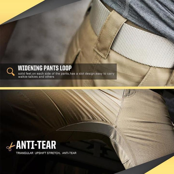 Tactical Waterproof Pants-Tex Urban Line, Urban Tactical Pants, Military Cargo Style, Men's