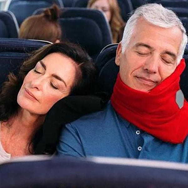 Travel Pillow with Extra Neck Support
