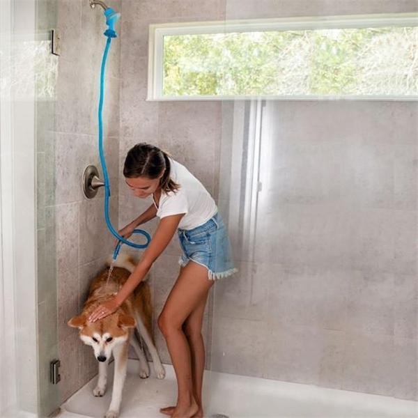 【Buy 2 Free Shipping】Slip-On Shower Attachment Hose- Best Gift For Your Pet