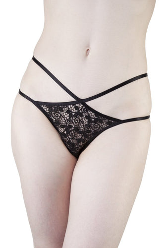 Amber Crochet Lace Brief