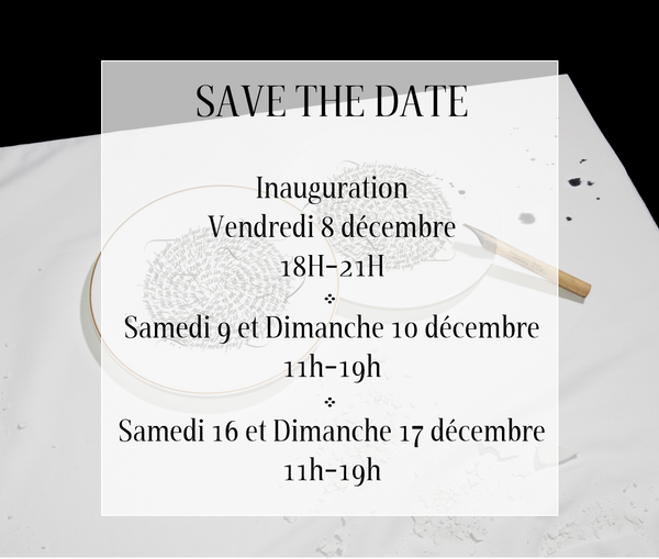 Save the date, showroom Maison Fragile