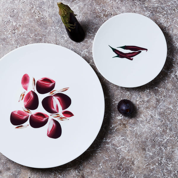 Coffret duo d'assiettes Dame Nature par le Chef Alain Passard