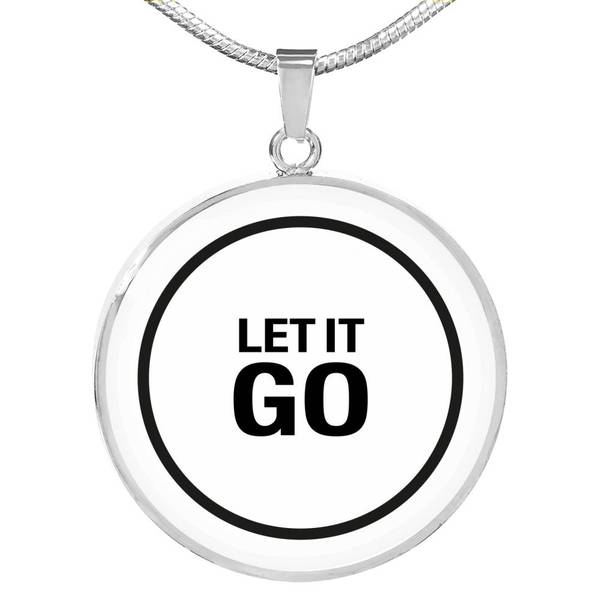 PENDENTIF LET IT GO (blanc) – IONKS N1