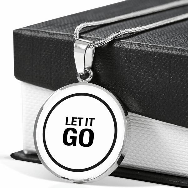 PENDENTIF LET IT GO (blanc) – IONKS N2