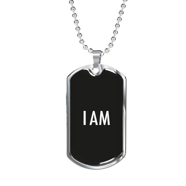 PLAQUE ID I AM (noir) – IONKS N2