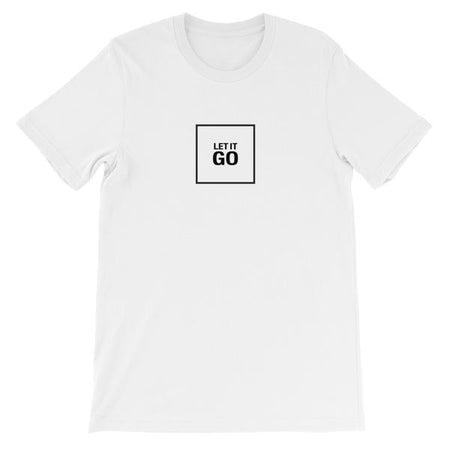 T-SHIRT UNISEXE LET IT GO (blanc) – IONKS N1