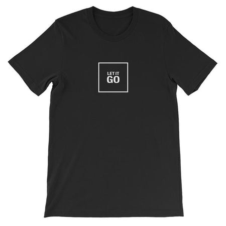 T-SHIRT UNISEXE LET IT GO (noir) – IONKS N1