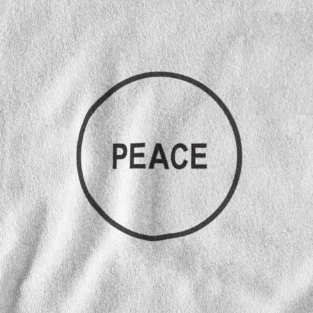 T-SHIRT UNISEXE PEACE (blanc) – IONKS N2