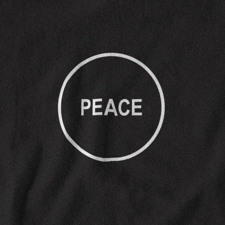 T-SHIRT UNISEXE PEACE (noir) – IONKS N2