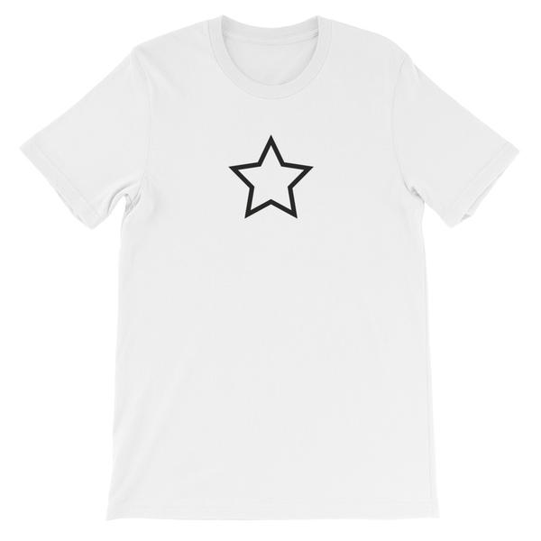 T-SHIRT UNISEXE STAR (blanc) – IONKS N1
