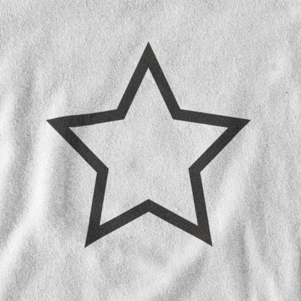 T-SHIRT UNISEXE STAR (blanc) – IONKS N2