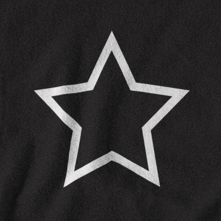 T-SHIRT UNISEXE STAR (noir) – IONKS N2