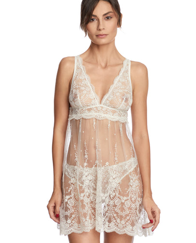 A La Rose Embroidered Camisole