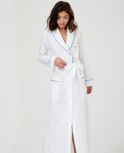 Ainsley Long Cotton Robe