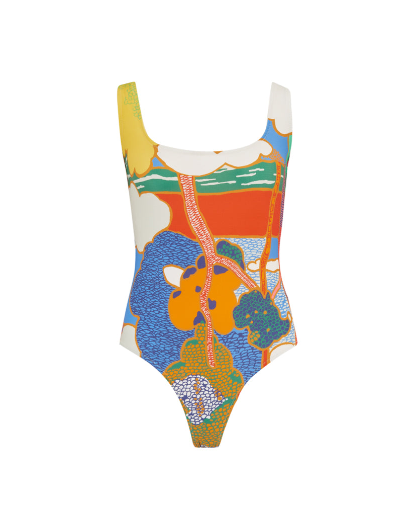 Ideal One-Piece in Exclusive Liberty Print