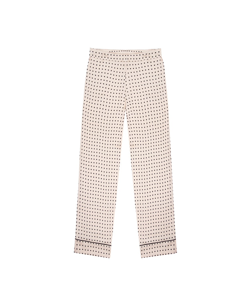 The London Square Silk Trouser