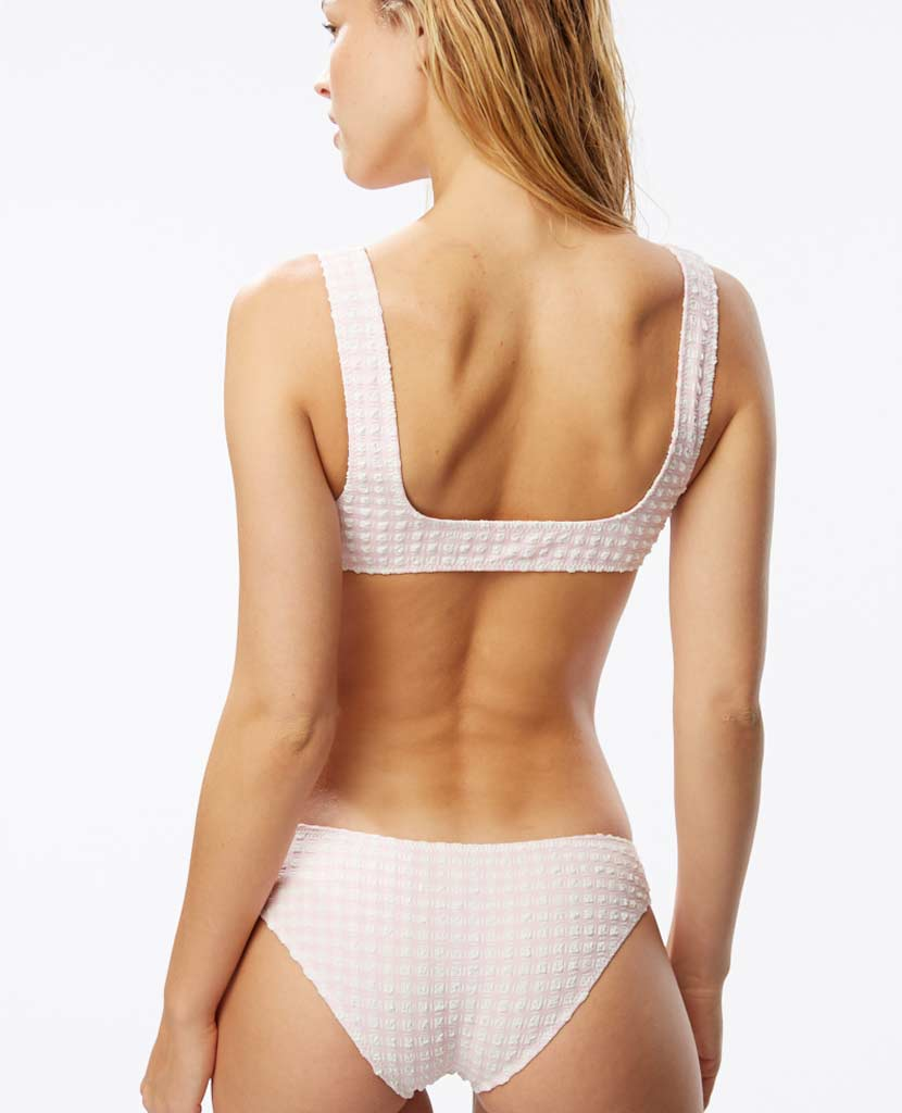 The Elle Bottom - Rose Gingham