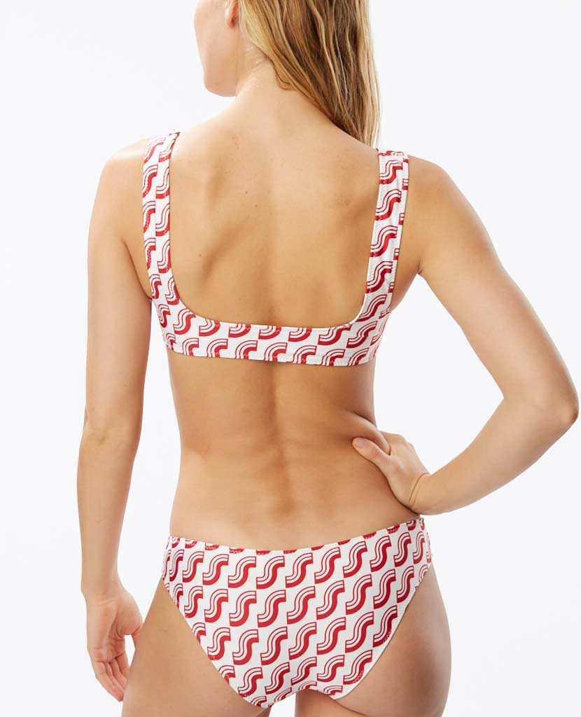 The Elle Bottom - S Logo Print