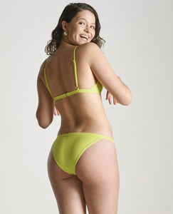 Tangiers Bikini Bottom in Lime