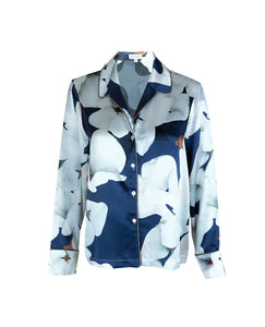 Camo Bloom Pyjama Shirt